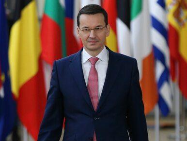 Premier Morawiecki spotkał się z Junckerem. O czym rozmawiali?