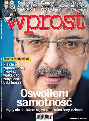 Okładka tygodnika Wprost nr 22/2014 (1630)