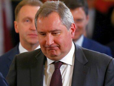 """Wicepremier Rosji zemścił się na Rumunach... poematem. """"Ściągnęli sobie..."""